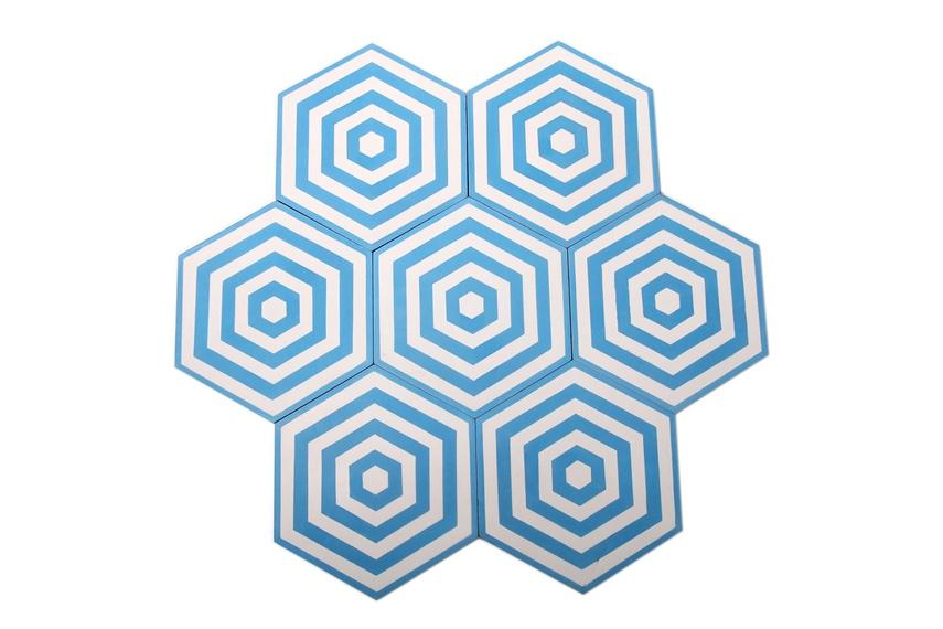 Encaustic Target tiles give a range of design options.