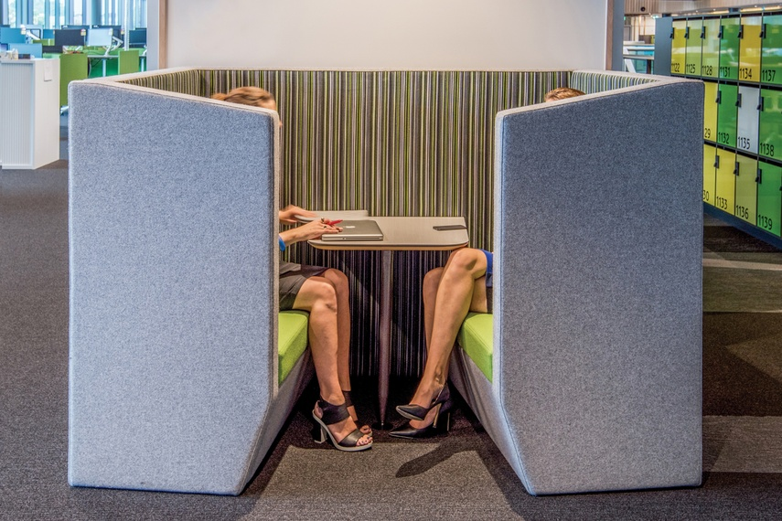 Huddle Collaborative Booths Huddle Soft Seating By Vidak