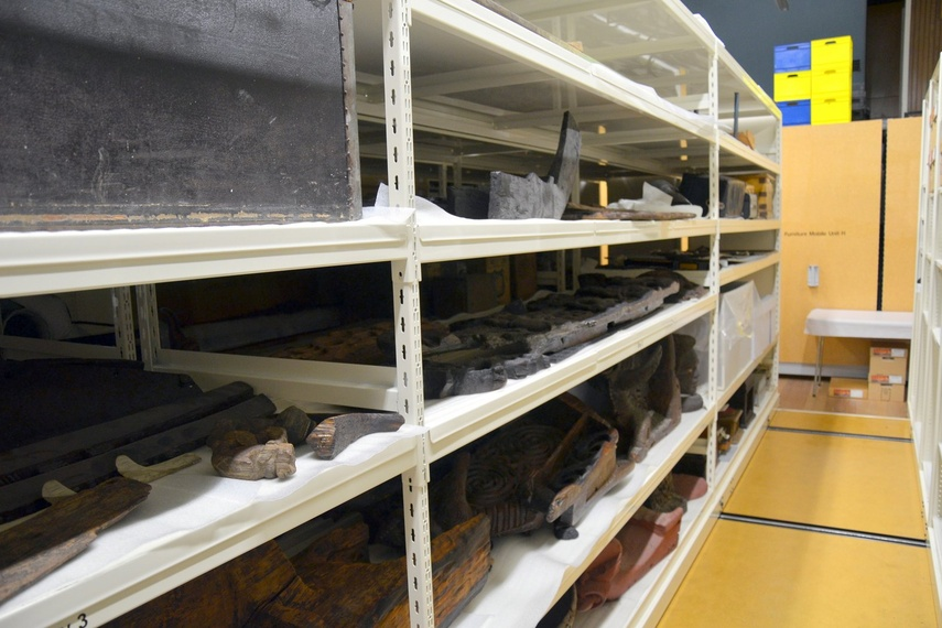 Museum storage.