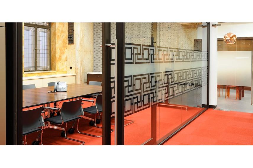 Tretford tile at Westpac offices, Sydney