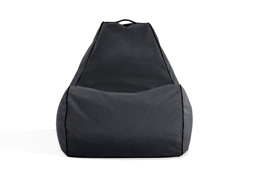 Tulum bean bag chair (outdoor/slate).
