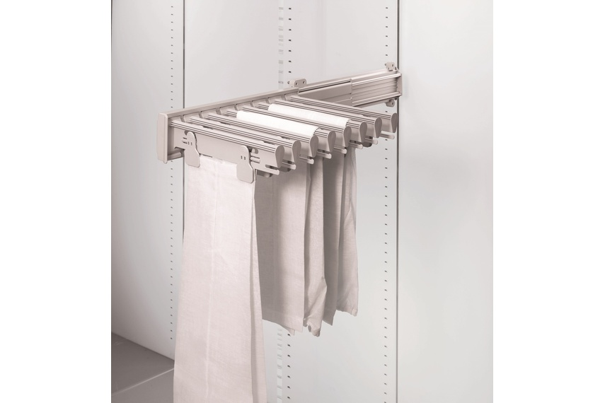 Ambos side mounted trouser and skirt rack.