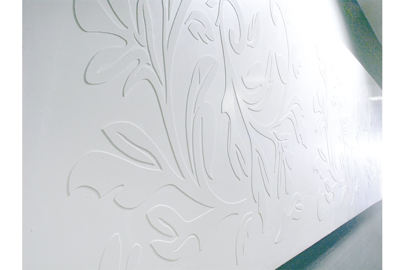 Create subtle interior patterns.