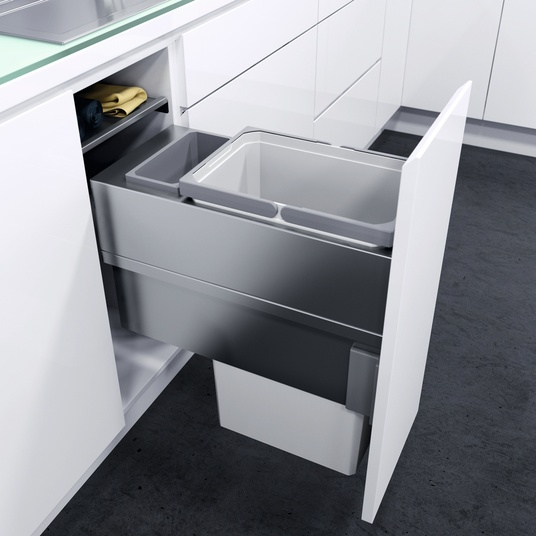 vauth sagel envi space xx pull out kitchen bins by fit. Black Bedroom Furniture Sets. Home Design Ideas
