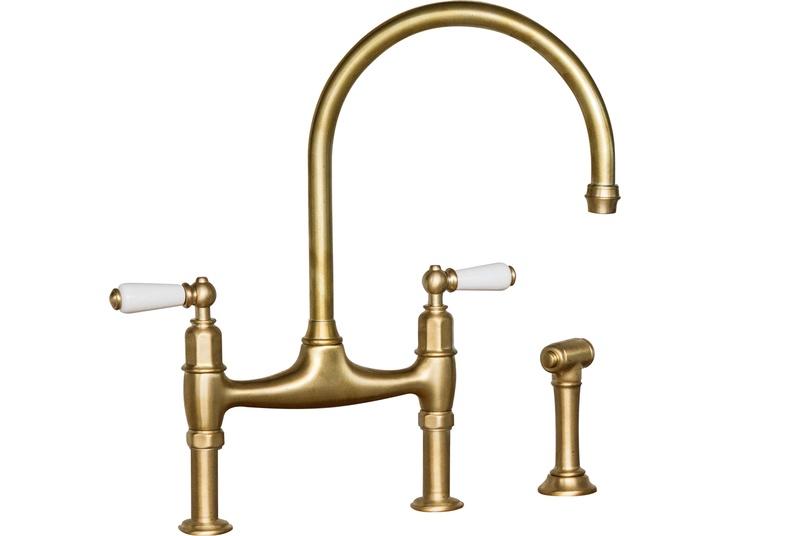 Perrin & Rowe Triflow kitchen taps