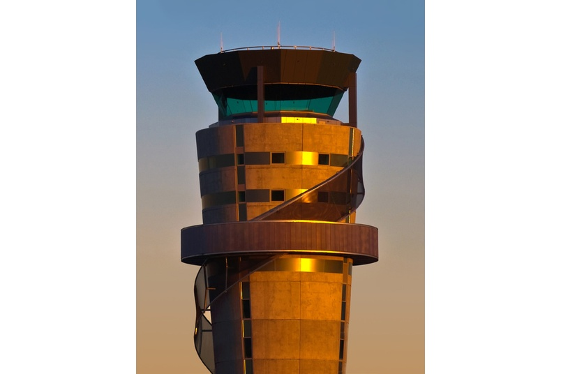 Christchurch Airport control tower