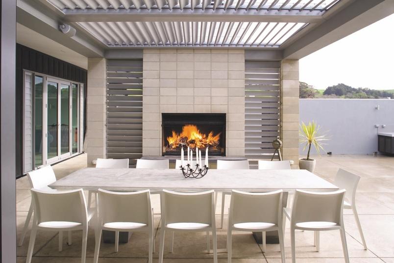 Nouveau 1250 outdoor wood fire