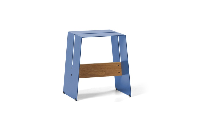 The A2 stool is available in a range of eight colours