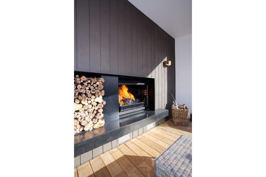 1100 Nouveau wood fire