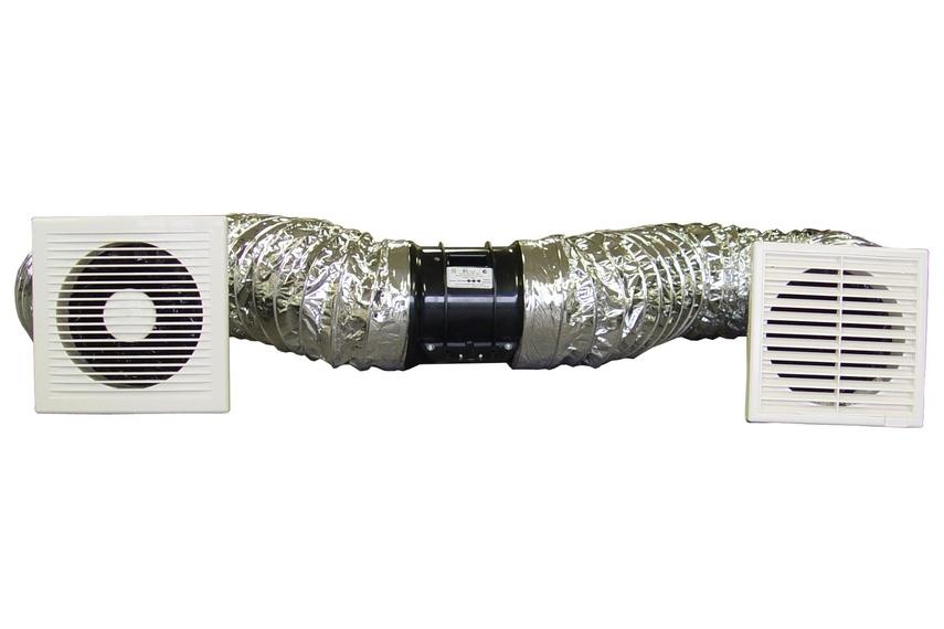 Model FV110 ClearFlow 150mm InLine extractor fan system