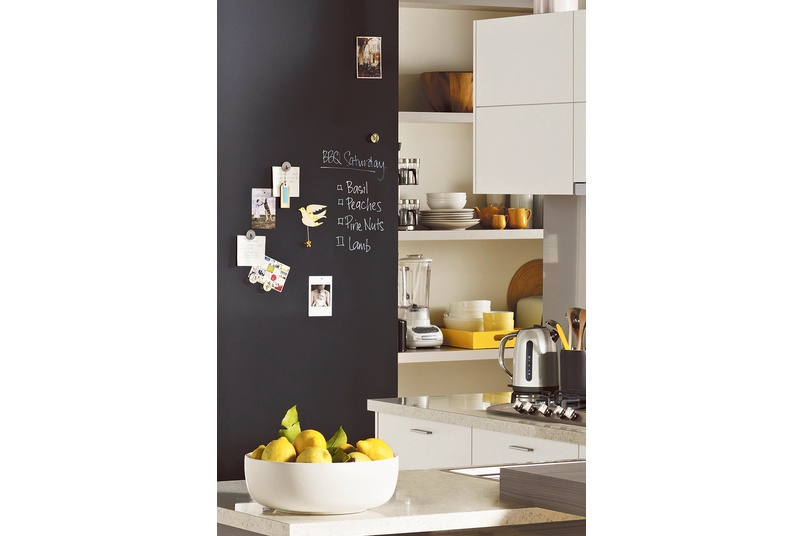 Formica Matt Black Magnetic Chalkboard laminate
