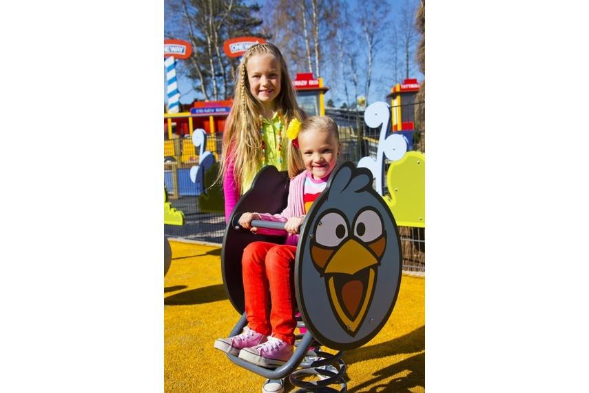 Angry Birds – Blue Bird springy rocker