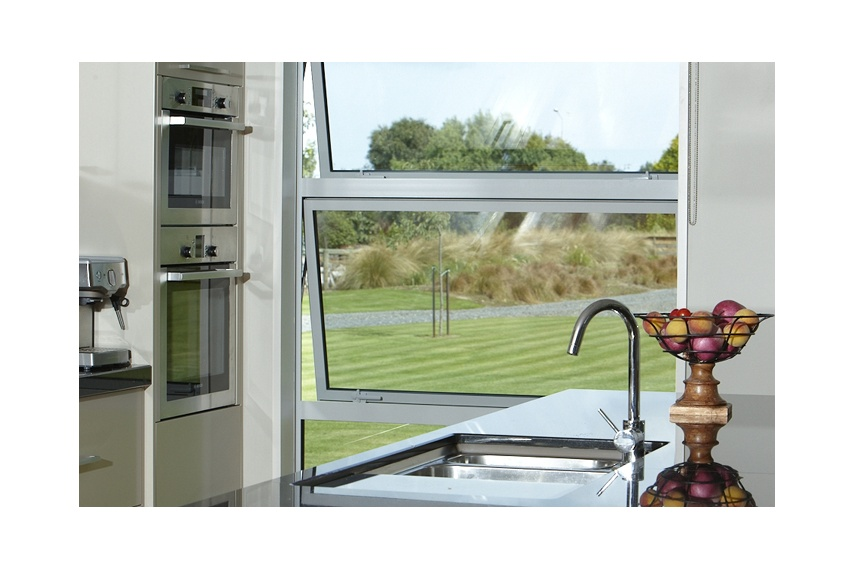 Awning window banks are great for all areas of a home
