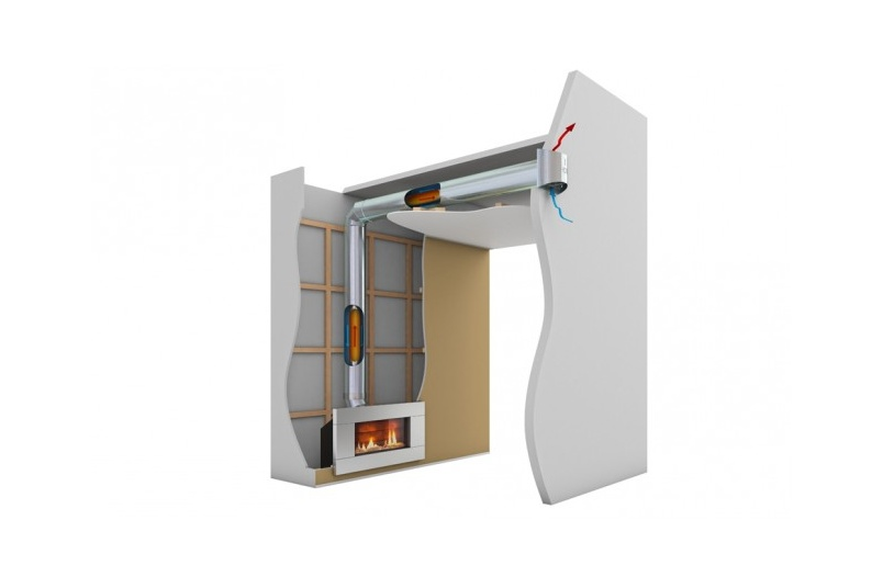 Fully sealed & flexible Direct Vent flue type for vertical and horizontal termination.