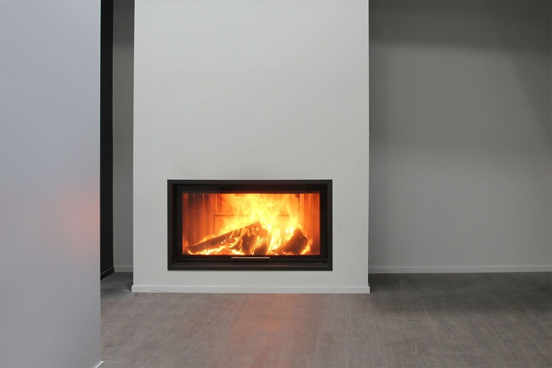 Spartherm Single XL wood fire.