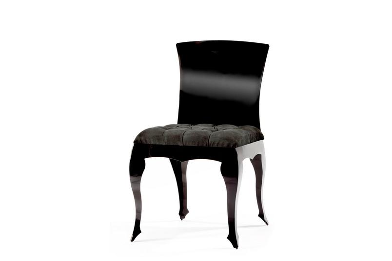 Evolute chair –gloss black