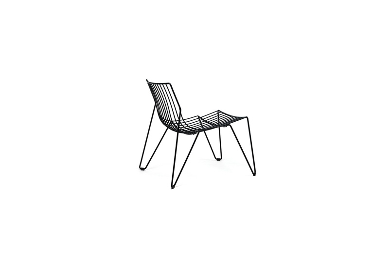 The Tio Easy chair blends in well with a large variety of architectural styles