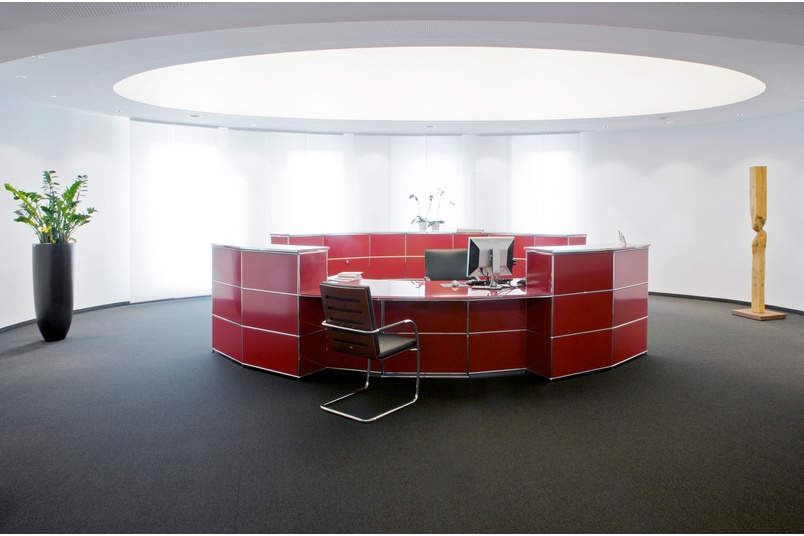USM in public spaces –reception counters to general product display with LED lightin