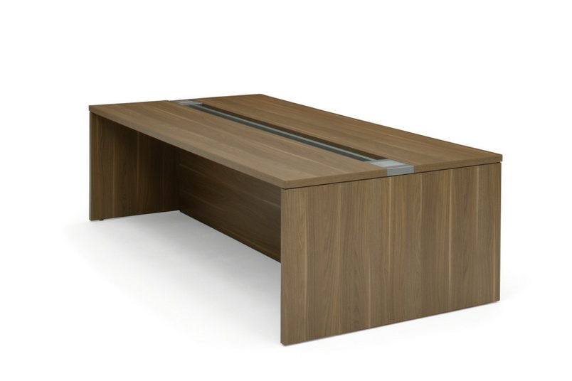 turnstone Campfire Big Tables have trough covers available to keep worksurface uninterrupted.