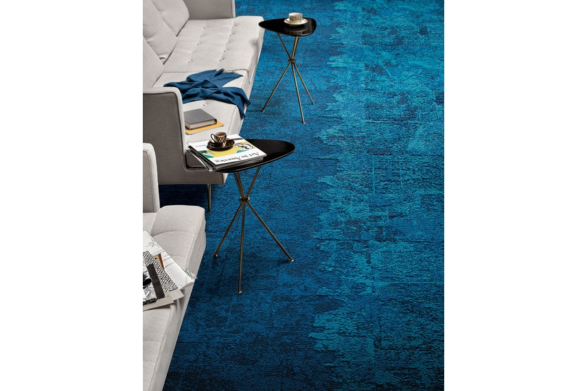 Net Effect One carpet tile by Interface – Selector