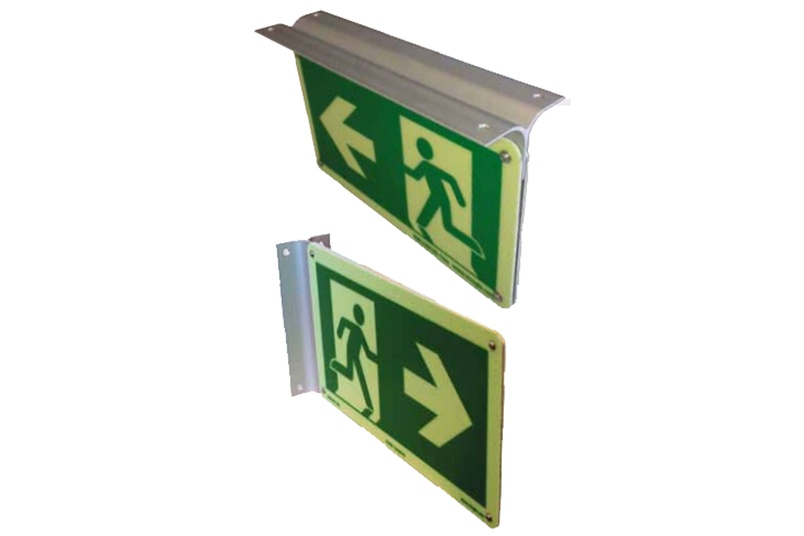 Emergency signs and escape route products