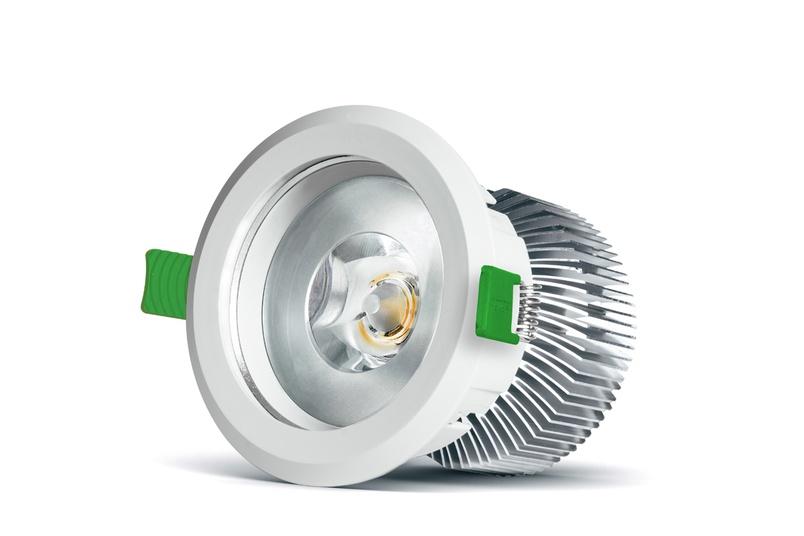 D900+ Curve LED downlight.