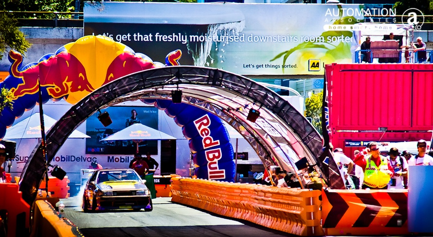 Automation Associates powers Red Bull drift shifters