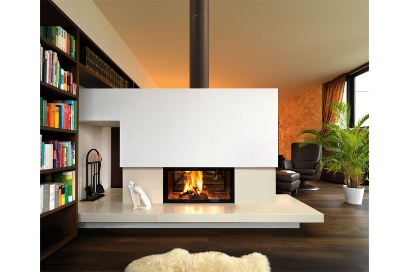 Double Sided Wood Fireplace By Spartherm Selector