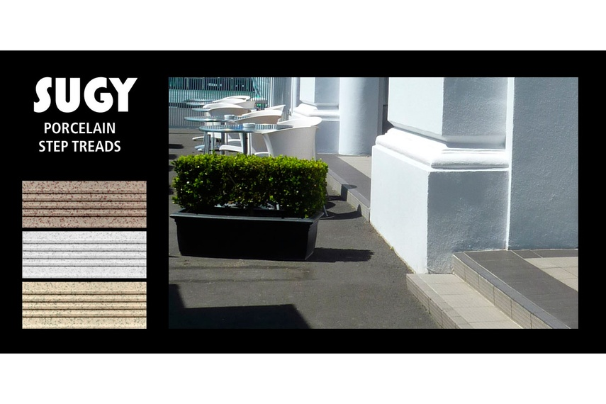 Extensively used throughout the Viaduct Harbour precinct in Auckland
