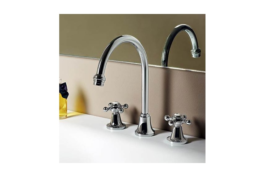 Agora 3th goose-neck basin mixer.