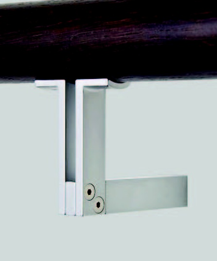 Lighting Basement Washroom Stairs: HB 550 Stair Rail Bracket And HB 552 Glass Fixing Kit By