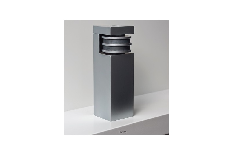 HB 760 Magnetic door stop. A useful alternative to its cubic cousin for when a mechanical hold open function is required in a step-down situation.