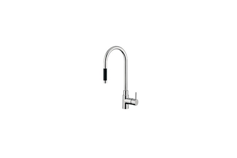 Stainless steel kitchen mixer – 197AS
