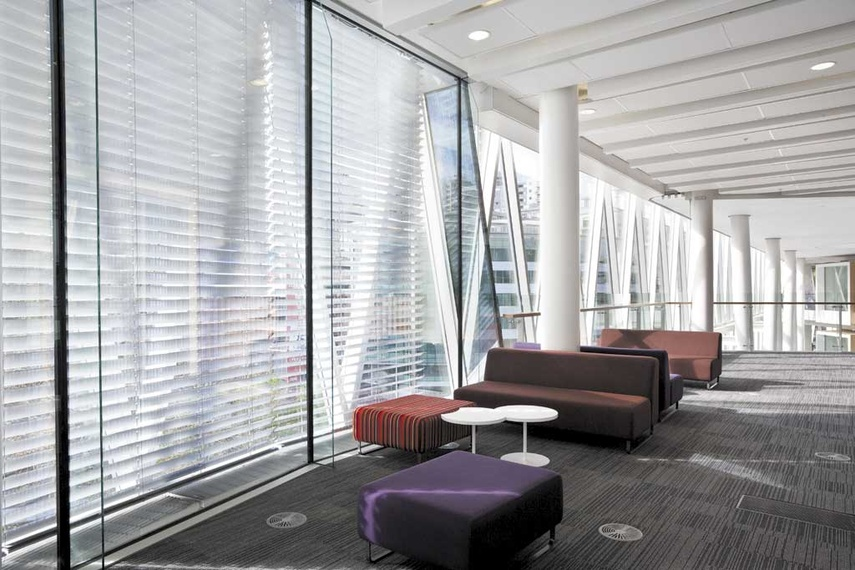 Horiso external blinds and louvres
