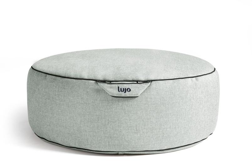 Tulum ottoman (indoor/mist).