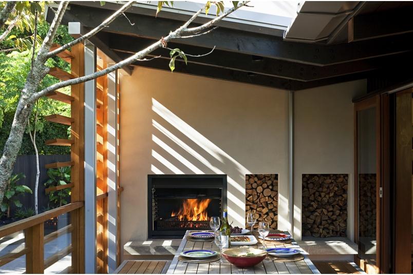 900 Nouveau wood fire