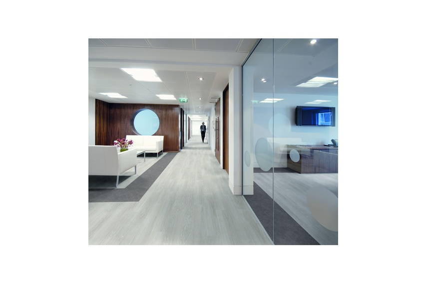 The Expona Control range from Polyflor features realistic timber effects.