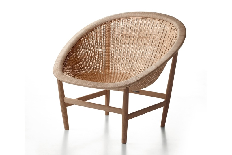 The original version was created by the Ditzels, and is hand-braided in wicker.