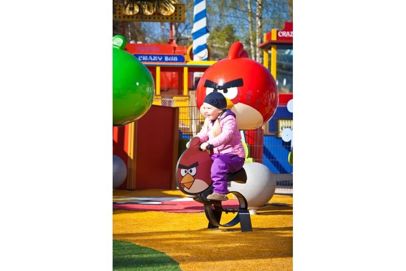 Angry Birds – Red Bird springy rocker
