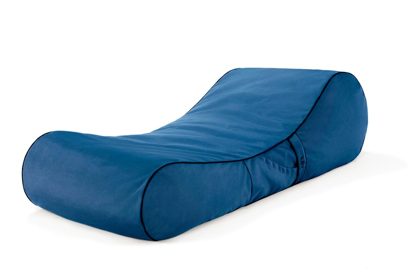 Tulum lounger (outdoor/med blue).