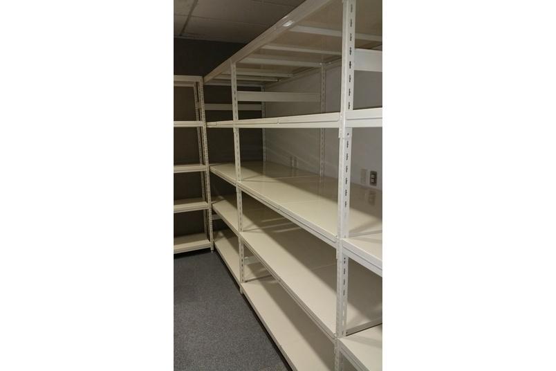 Hydestor steel storage system.