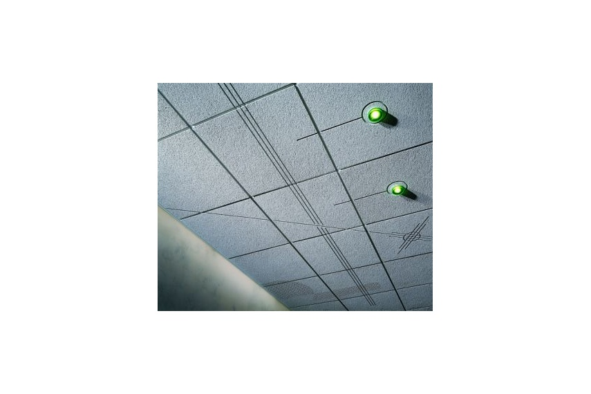 Renditions allows custom designs, company logos or trademarks, to be incorporated in ceilings