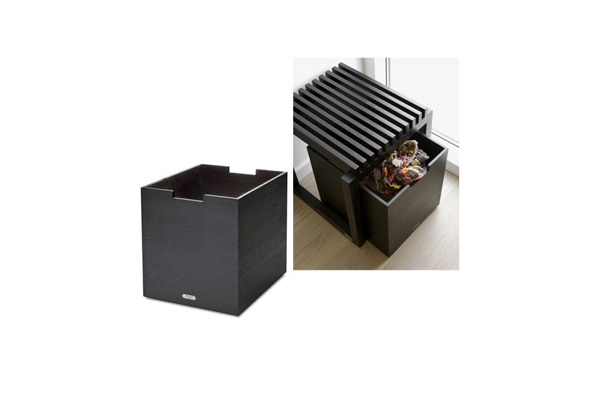 Skagerak Cutter storage box in black stain