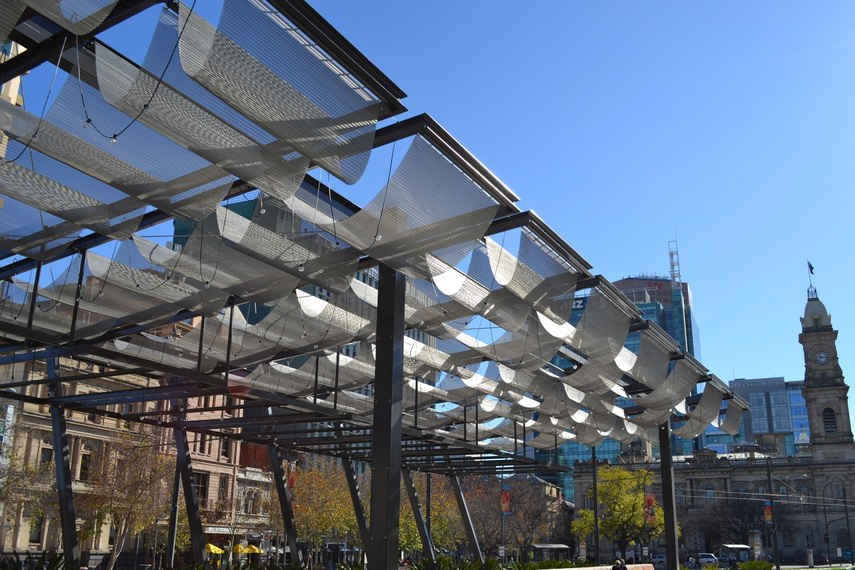 Victoria Square Redevelopment in South Africa by Taylor Cullity Lethlan features Transit F281.