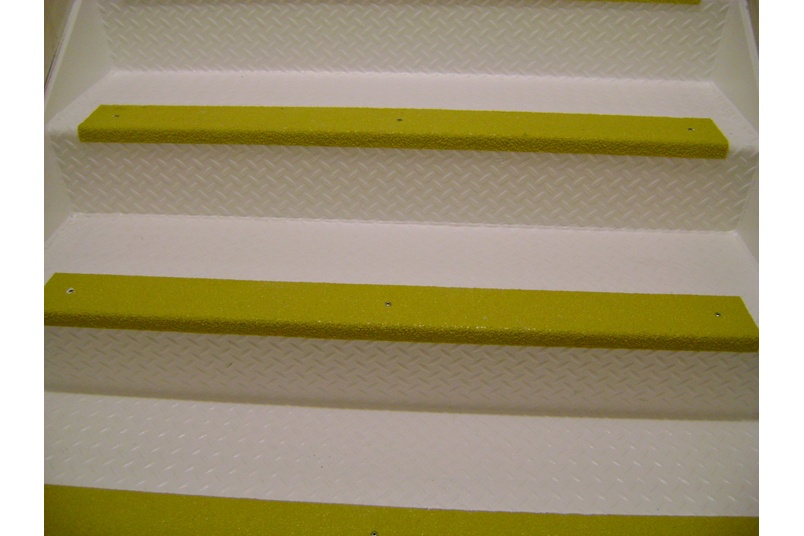 Stair nosings or covers are can be fitted over the front edge of most types and styles of stair treads