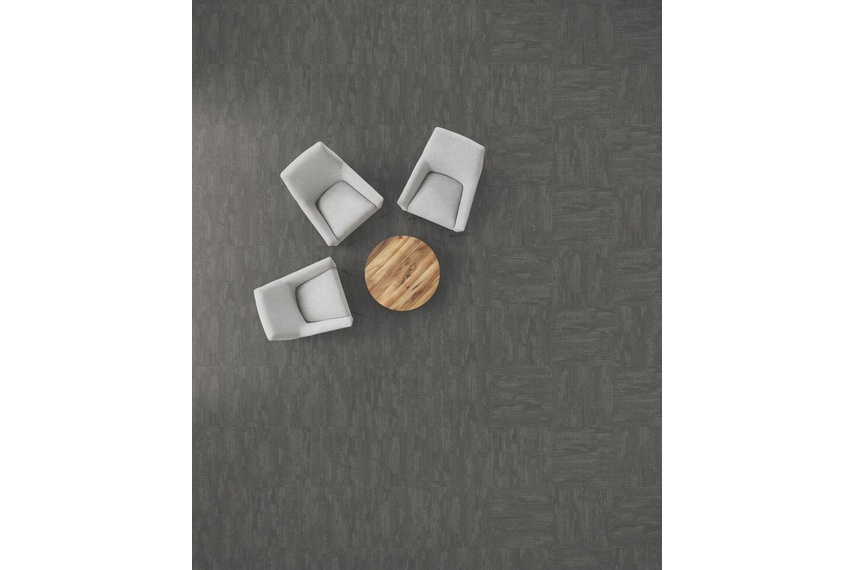 Design Is Imperfect – Brush Works carpet tile collection