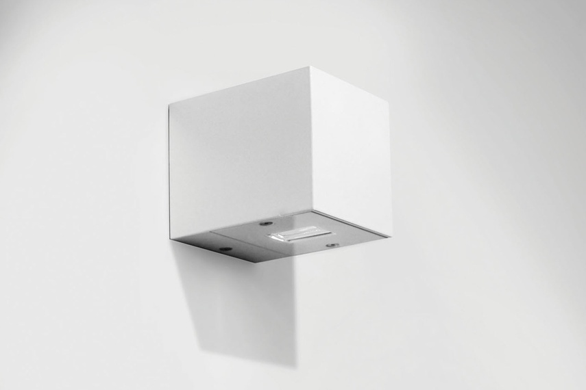 Cube – White RAL9010 polyester powder coated