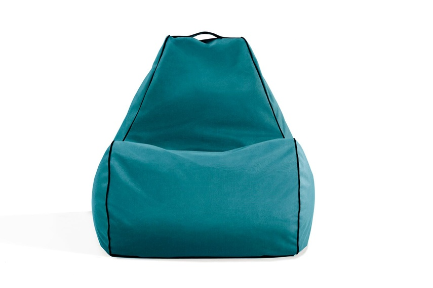 Tulum bean bag chair (outdoor/turquoise).