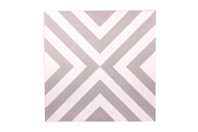 The Slim Crosseye encaustic tile by Gallery 4 is ideal for installing in new builds or for redesigning an existing space.